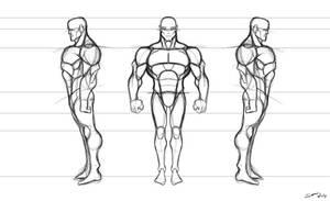 Animated - comic style hybrid template 1