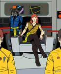 Captain Deveraux color flats
