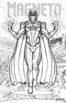 Magneto pencil sketch