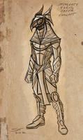 Horus Jaffa sketch