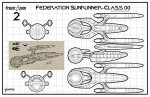 Sunrunner Class Starship/