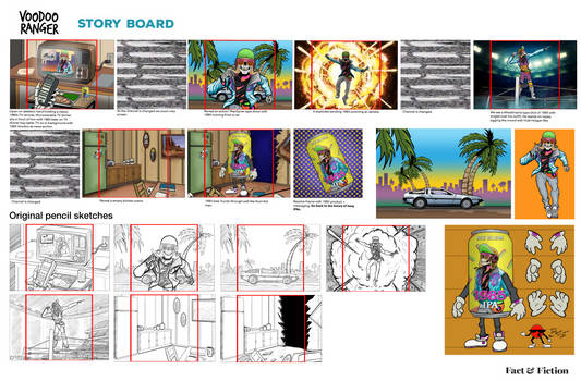 Channel Surfing storyboards
