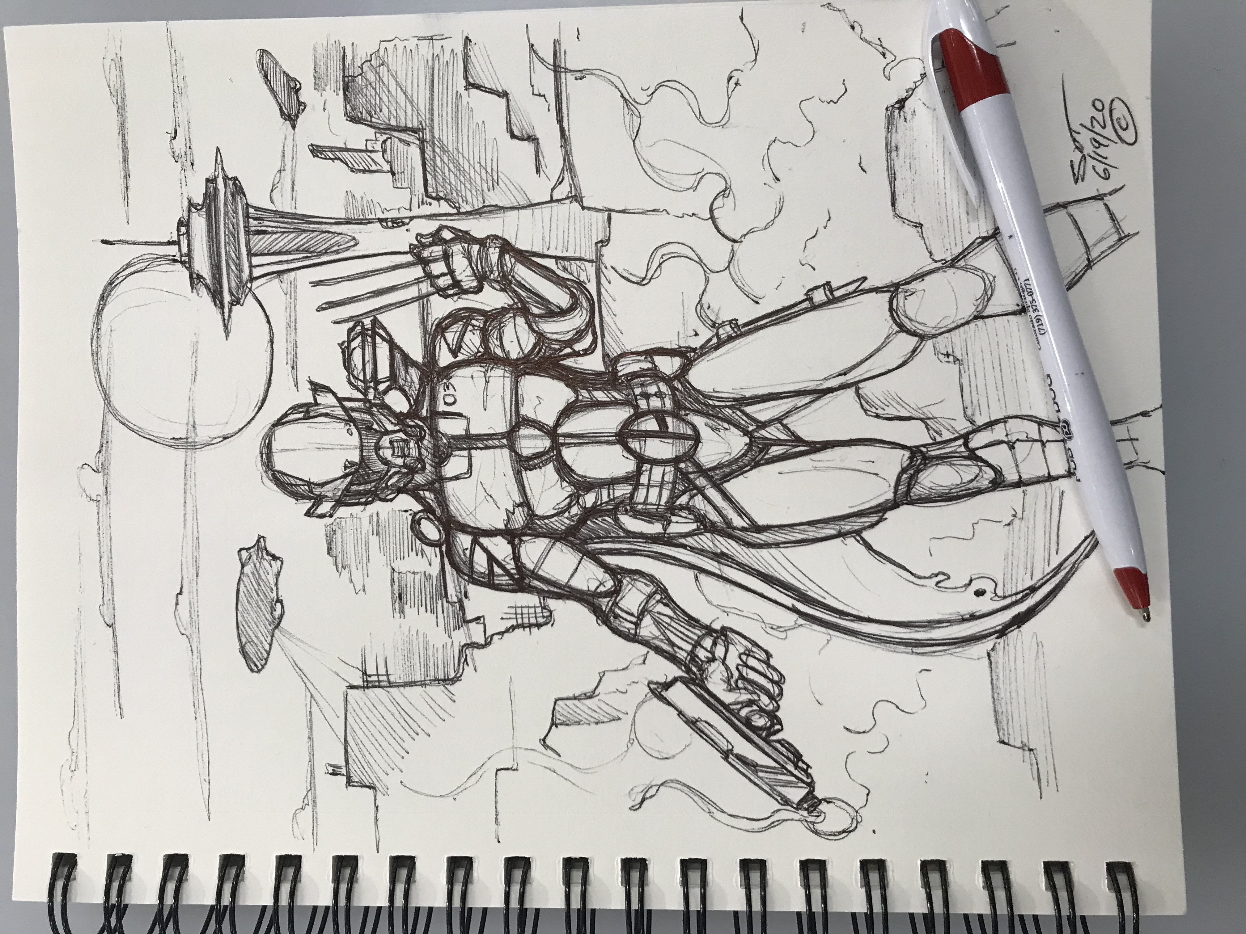 Dystopia sketching