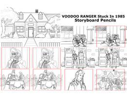 Voodoo Ranger Stuck In The 80s storyboard Pencils