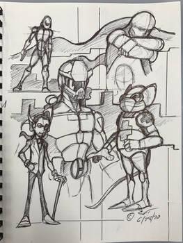 Retro sketchbook 062820