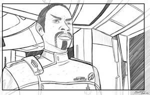 Dark Mirror Universe Commander Tuvok