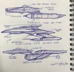Starship doodles