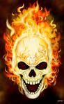 Johnny Blaze by stourangeau
