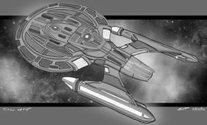 USS Titan refit sketch