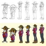 Toon Style Voodoo Ranger by stourangeau