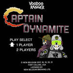 Captain Dynamite game spoof by stourangeau