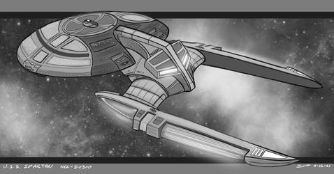 USS Spartan by stourangeau
