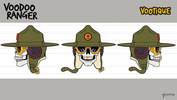 Voodoo ranger head turns