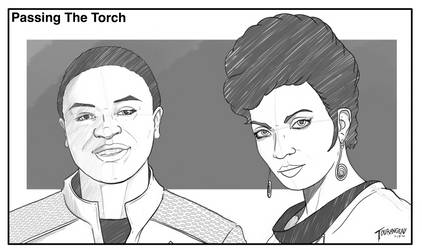 Passing the torch uhura