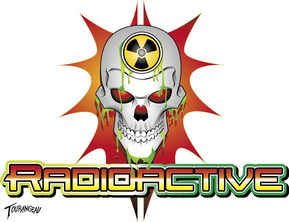 radioactive skull tshirtdesign by stourangeau on deviantart