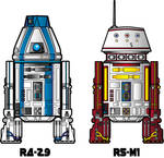 Meet R4-Z9 And R5-M1