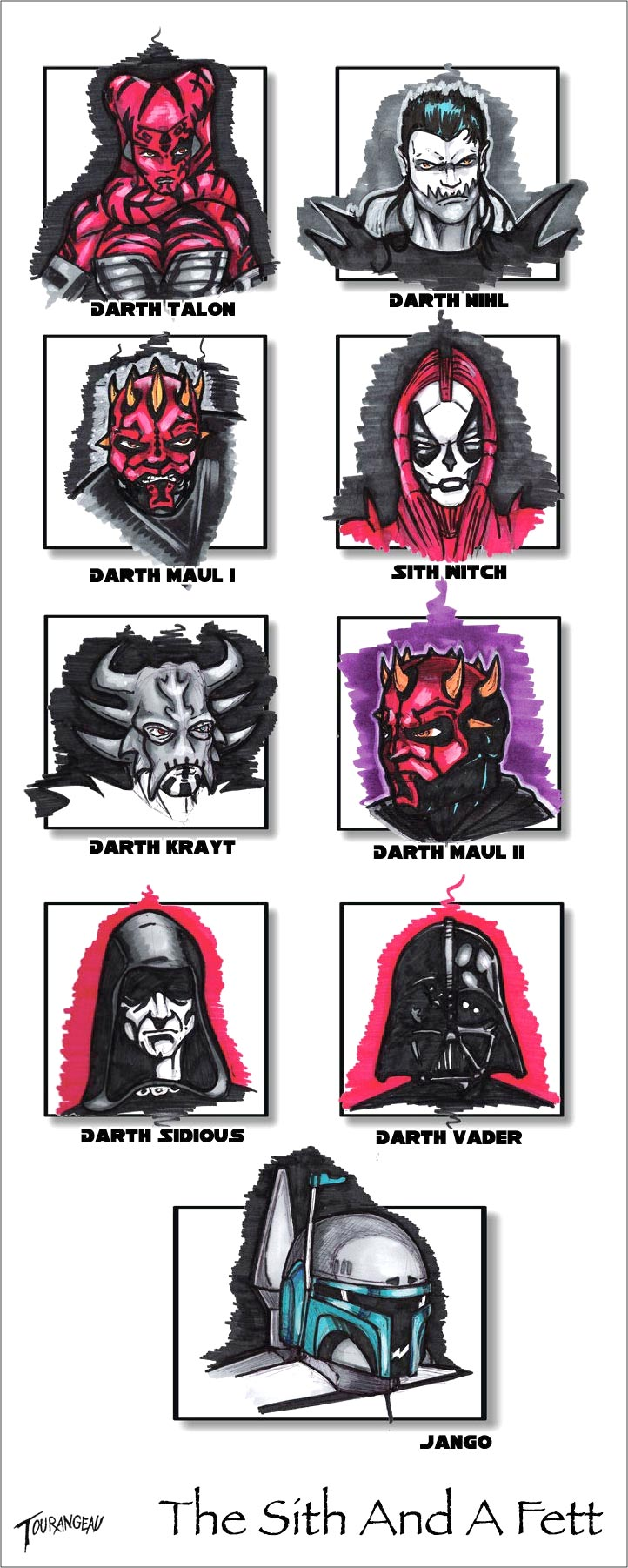 The Sith And A Fett by stourangeau