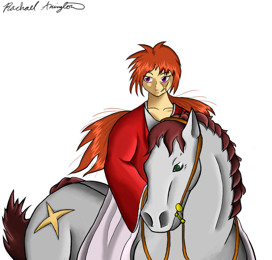 Kenshin Riding Horo Pisu by XxGaaraloverxX