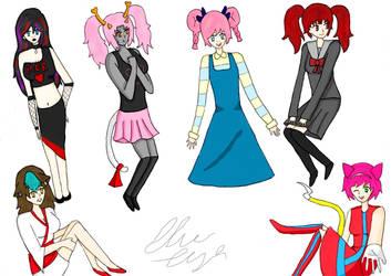 Fanfic/ Fanime characters fanart by KoalaofFandoms