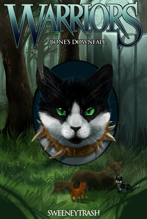 Warrior Cats Book Cover Template ~ Sweeneytrash co by blitzengles on deviantart