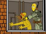 Simpsonesque Stalker Wallpaper