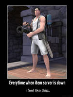 Everytime when item server is down