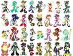 32 characters sheet