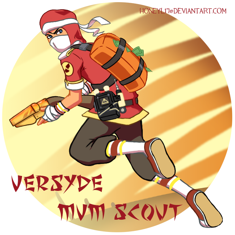 TF2 Scout Versyde by HoneyL17
