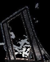 Rusty gate... by Dark-Indigo-Stock