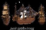 Fantasy sailboat...