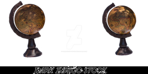 Steampunk/Retro globus...