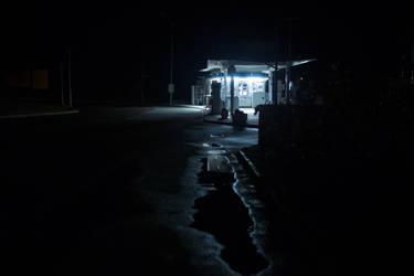 Gas station (Night) V2