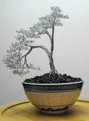 Forever Bonsai Noodle Bowl Tree NB-008