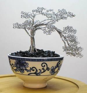 Forever Bonsai Noodle Bowl Tree NB-006