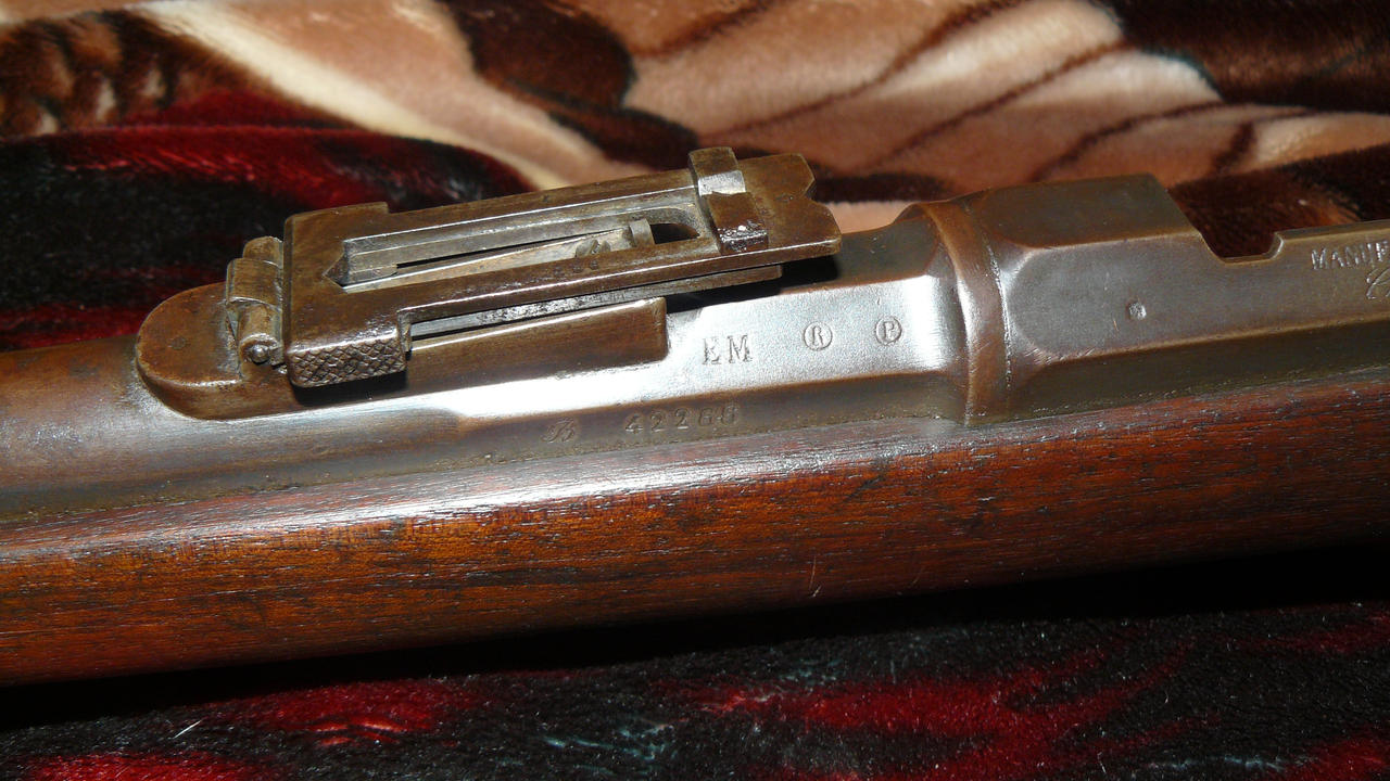 Mle  1874 M80 Gras Rifle (rear sight+proof marks) by bhester