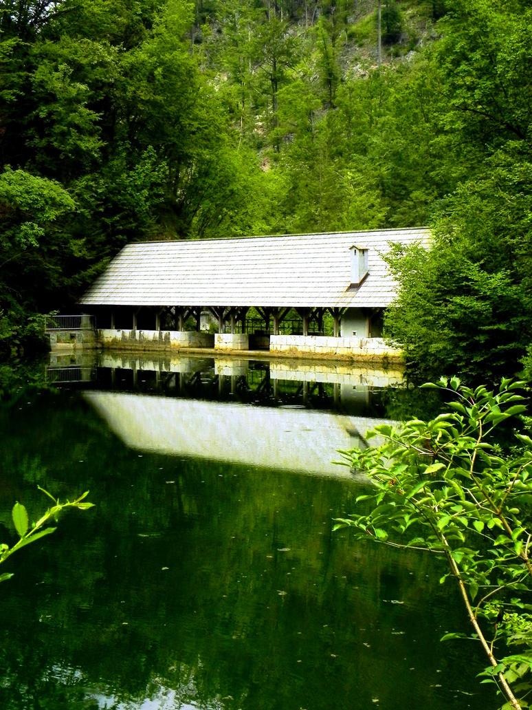 Dam near Idrija by AntaresAquarii