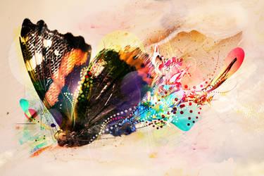 Butterfly by vividlypastel