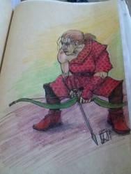 Archer dwarf