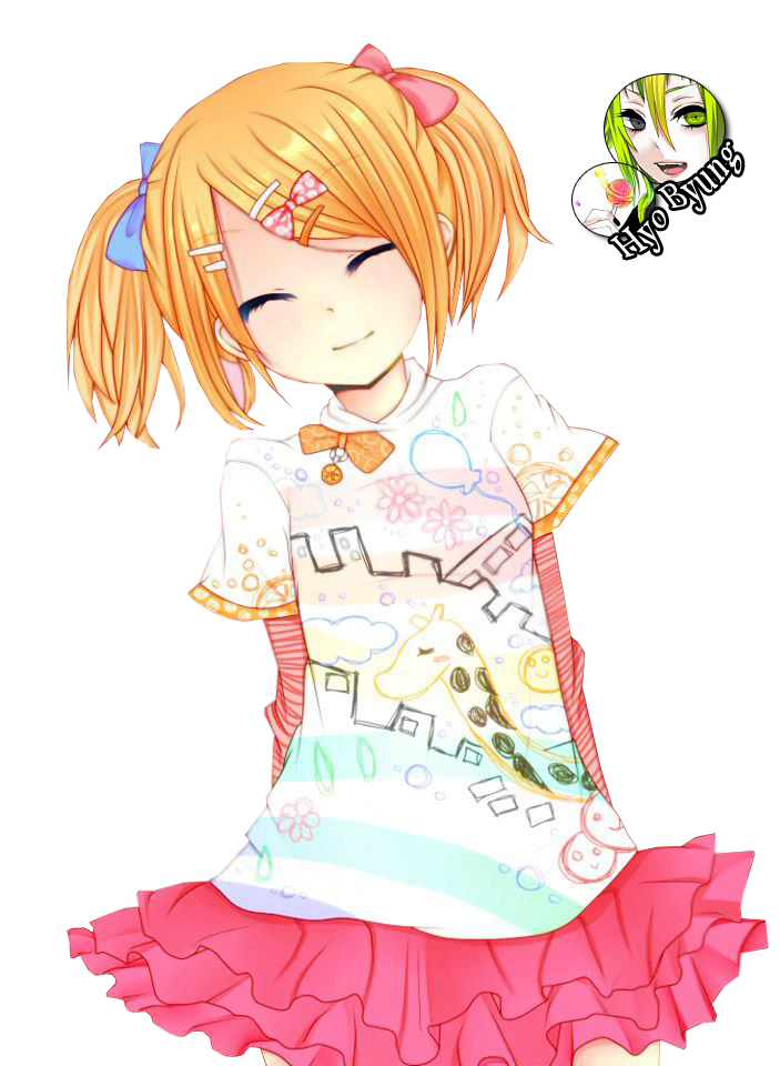 رندرات انمي cute_girl_render_by_