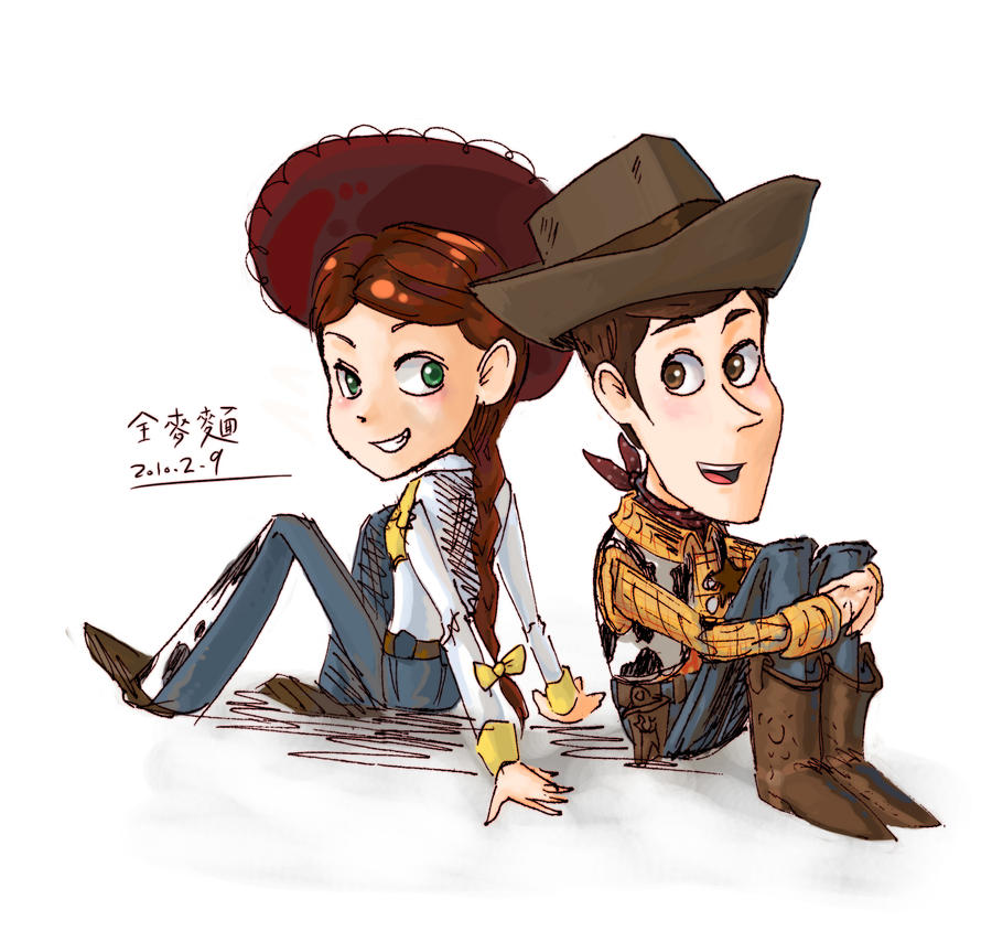 Woody and jessie by n7tiga6233 on DeviantArt