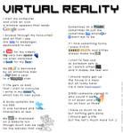 Virtual Reality by auroraailuros