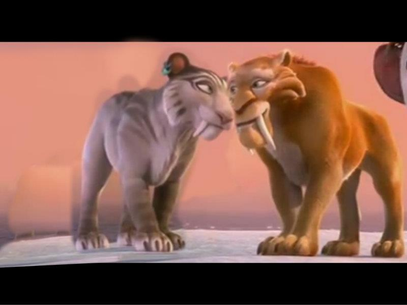 ice age 4 shira and diego kiss - photo #37