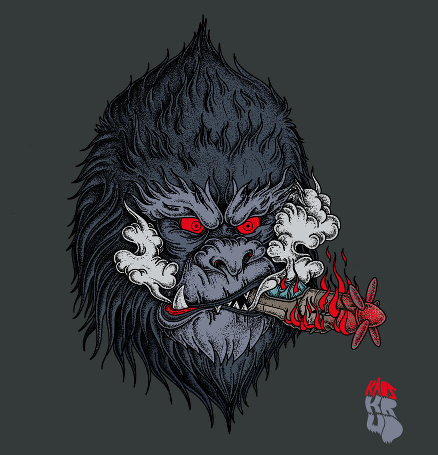 King/kaoskrud/kong by kaoskrud