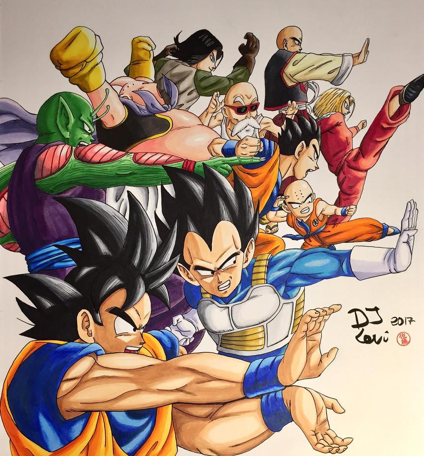 Dragonball Super Universe 7 Team By Djlevi On DeviantArt