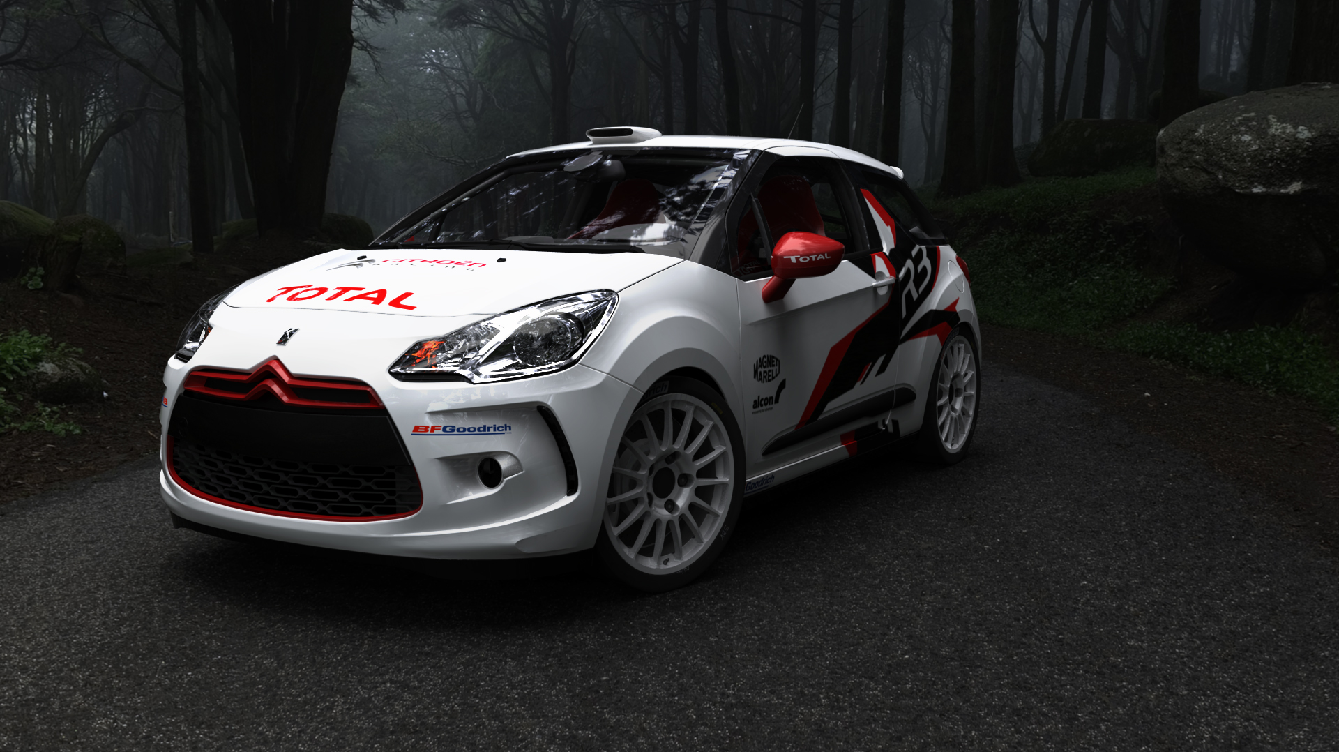 citroen ds3 wrc test car by oppositelock on deviantart. Black Bedroom Furniture Sets. Home Design Ideas