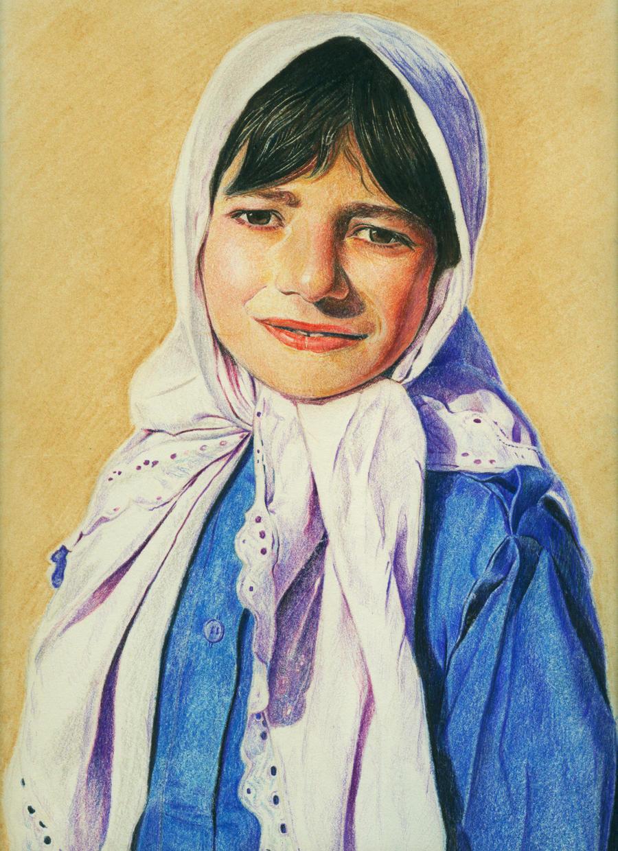 A Pakistani Girl by MadcatCC