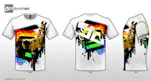 dA Llama With Color