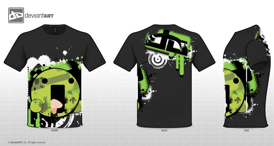 dA :LA: Shirt Black by MoGDesignsAR