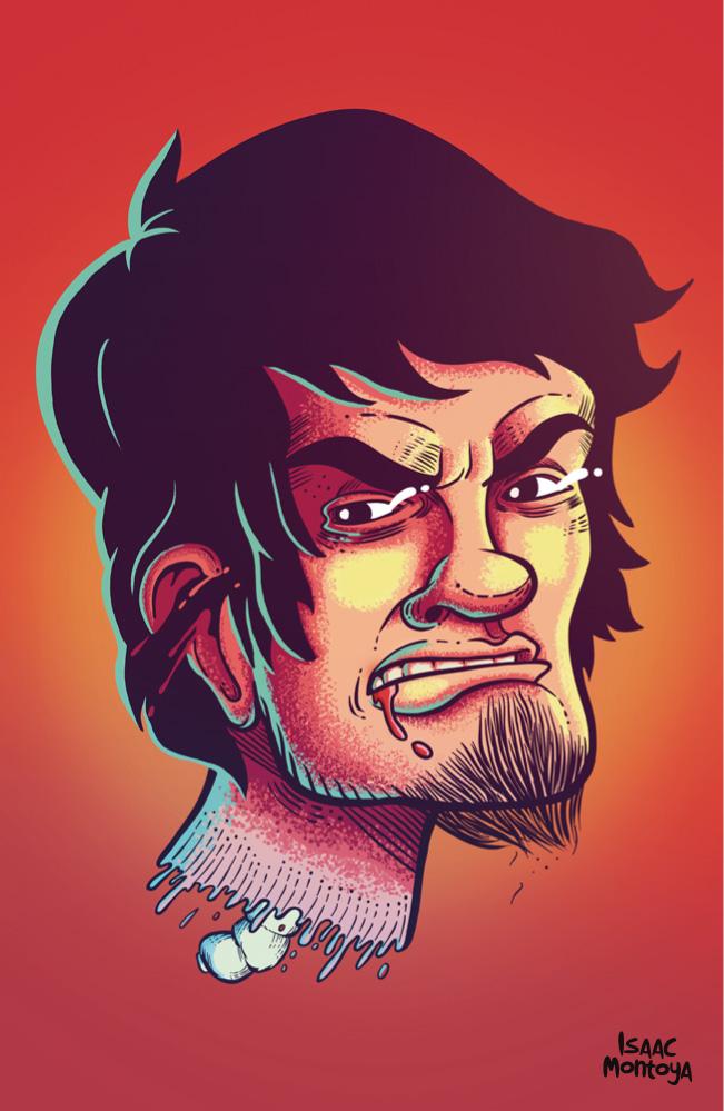 Self portrait by IsaacMontoya