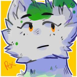 Leny the green cat